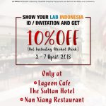 Enjoy 10% Off For Being A LabIndonesia Participant!